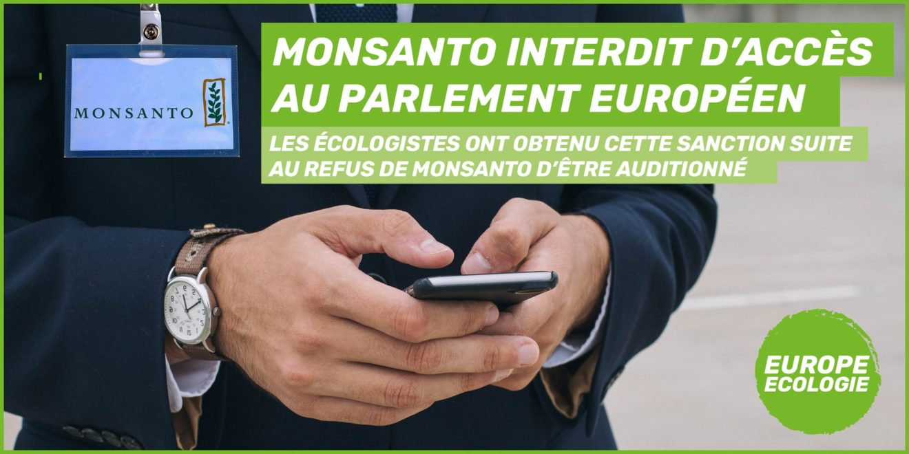 Tweet Monsanto accès