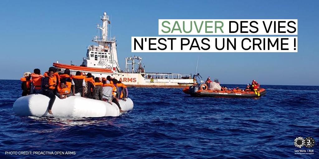 Prix Sakharov : le sauvetage en mer n'est pas un crime