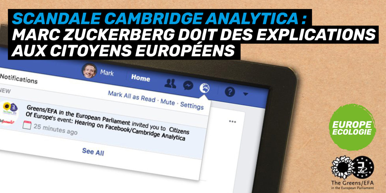 Le scandale Facebook / Cambridge Analytica en débat au Parlement européen