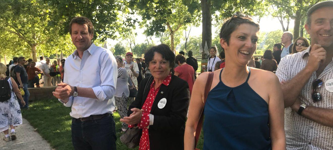 La convergence des Marches pour les réfugiés et la santé environnement