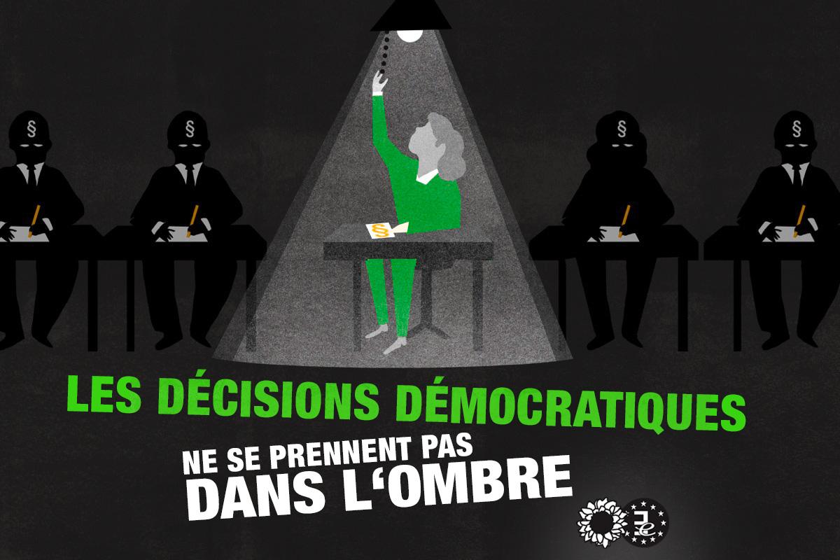 Transparence au Parlement européen : des règles renforcées grâce aux Verts-ALE