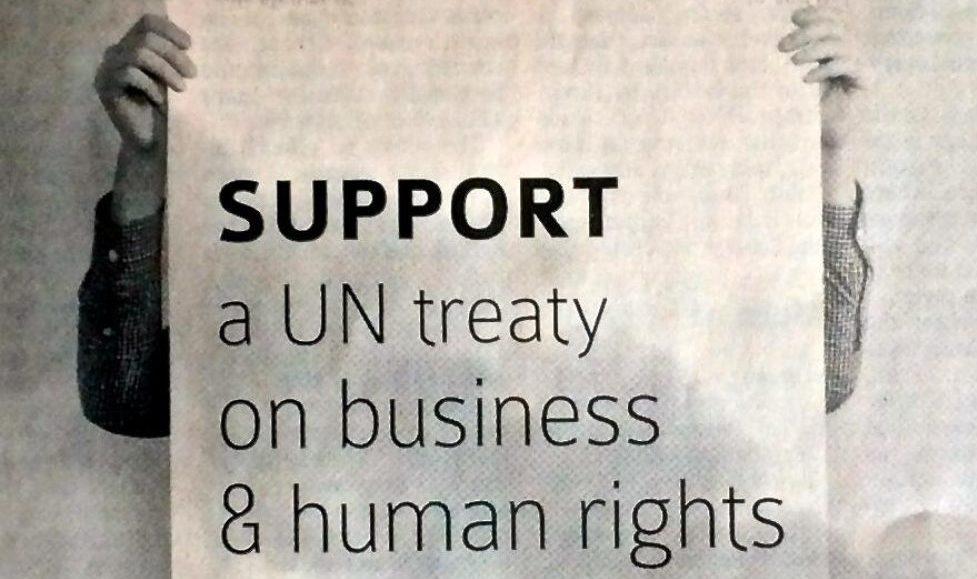 L'Europe doit s'engager pour la défense des droits humains et environnementaux au niveau mondial