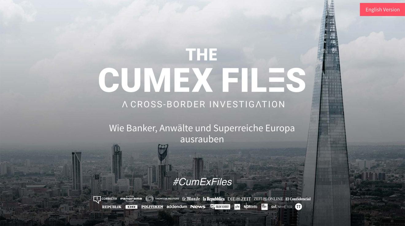 Un nouveau scandale d'évasion fiscale : les CumEx Files