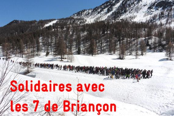 Procès des 7 de Briançon : stop au délit de solidarité !