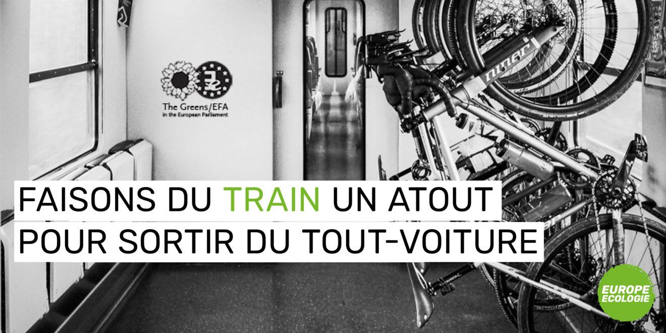 Directive Droits des passagers ferroviaires  : les vélos vont pouvoir prendre le train