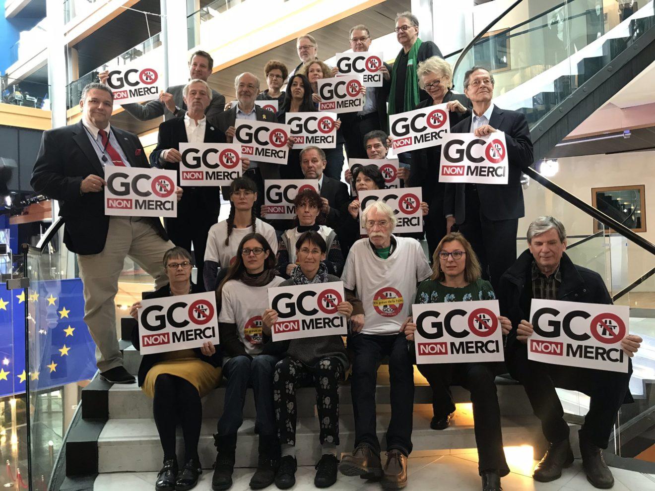 GCO : soutien aux grévistes de la faim
