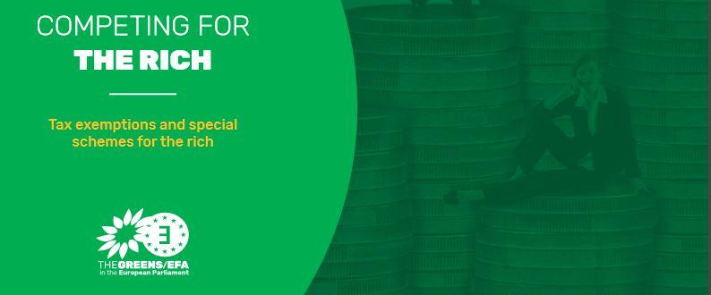 Un nouveau rapport des Verts/ALE sur la course fiscale dans l'UE pour attirer les plus riches