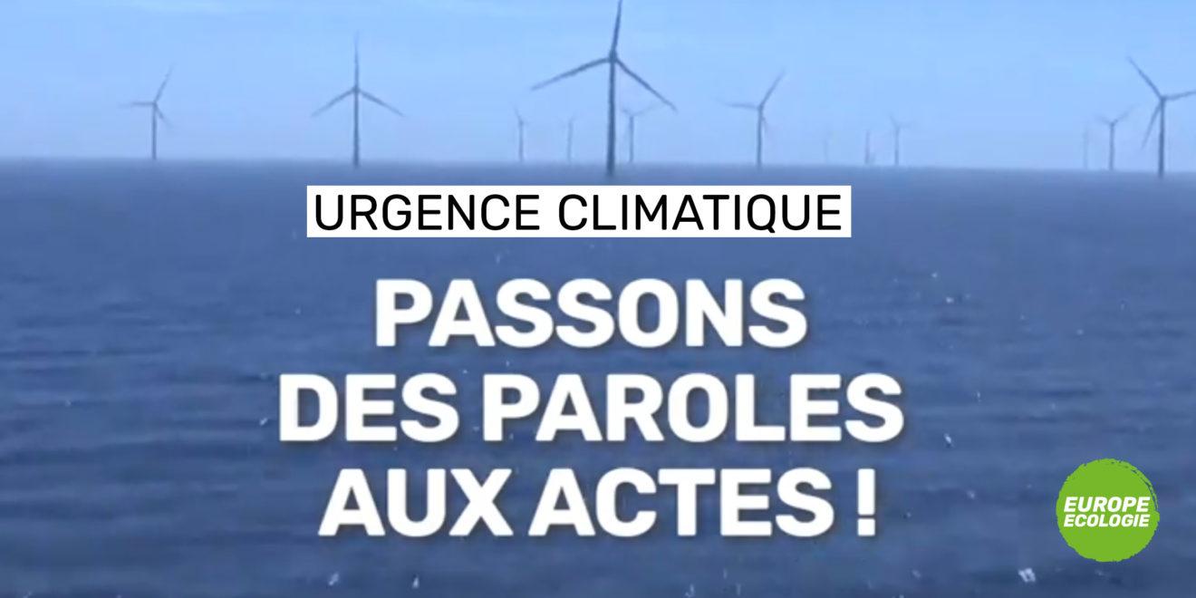 Le Parlement européen décrète l'état d'urgence climatique