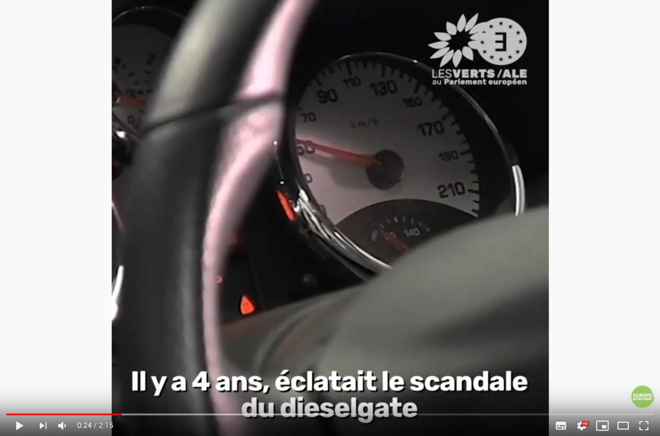 ecran video dieselgate