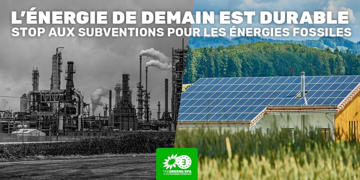 Non aux projets incompatibles avec le Green Deal et nos ambitions climatiques.