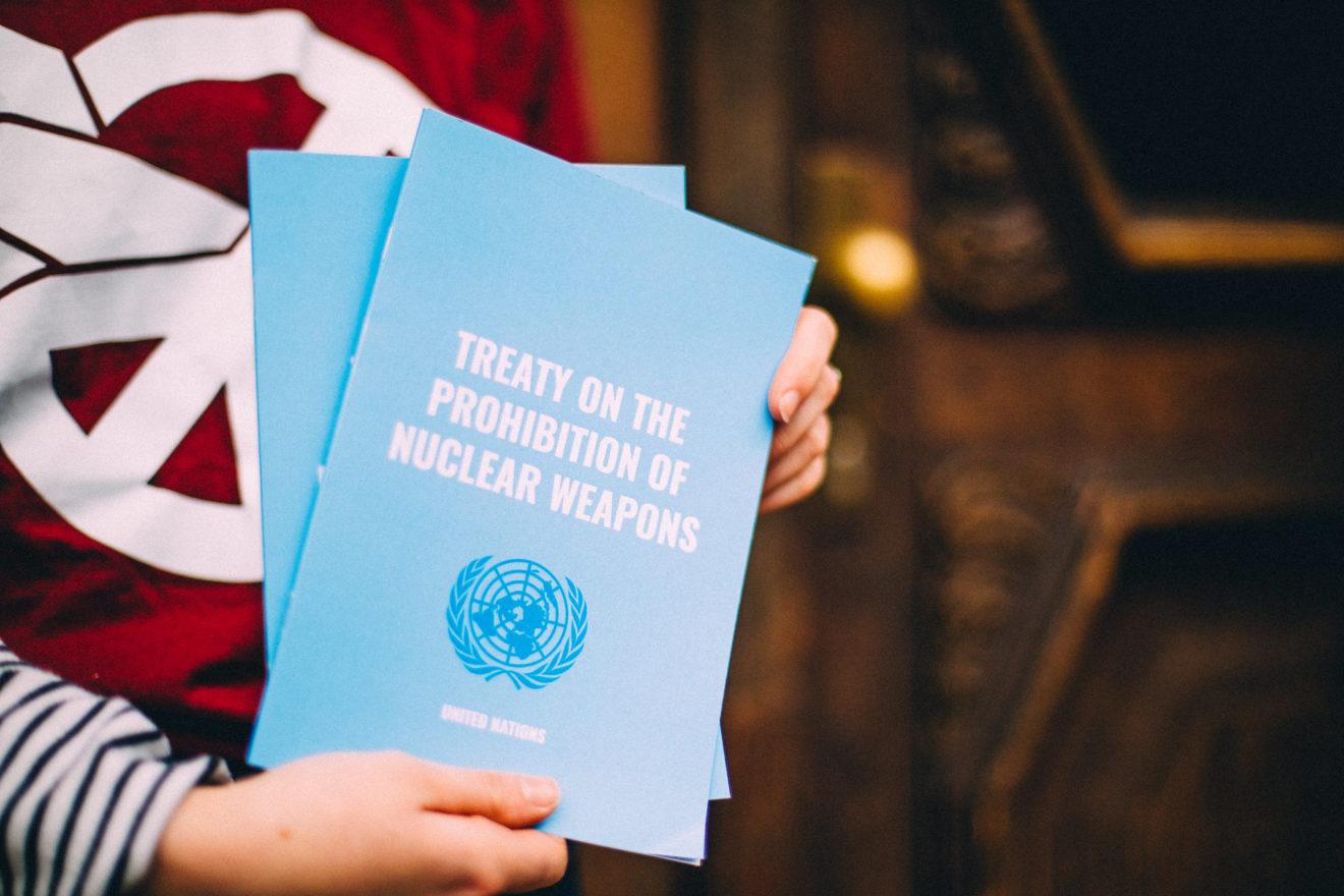 Entrée en vigueur du Traité sur l'interdiction des armes nucléaires