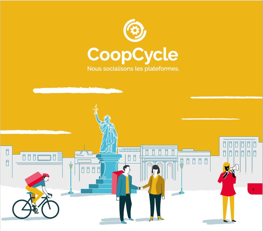 CoopCycle - Plaquette
