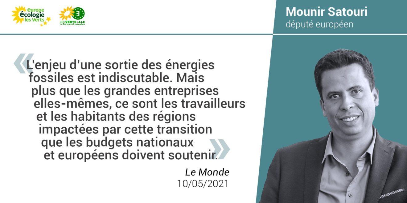 [Tribune] « La sortie des énergies fossiles doit s'accompagner d'une transformation en profondeur alliant transition énergétique et justice sociale »