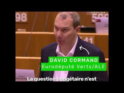 David Cormand : L'Europe doit se doter de ressources propres