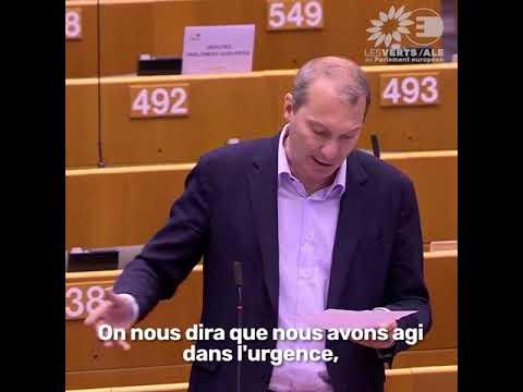 David Cormand en plénière sur l'accord du Conseil sur le plan de relance et le budget