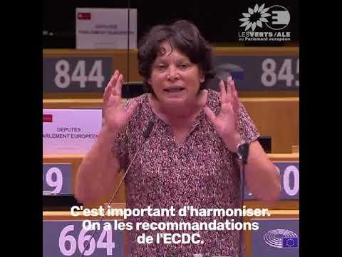 Intervention de Michèle Rivasi sur l'harmonisation européenne en période de crise sanitaire