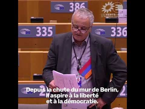 Intervention de François Alfonsi sur le conflit au Haut-Karabakh