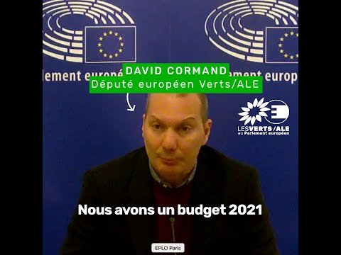 Intervention de David Cormand sur le budget 2021