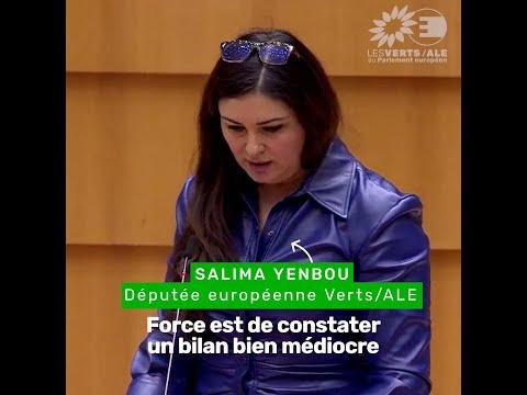 Salima Yenbou sur le processus de Barcelone