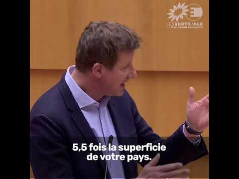 Yannick Jadot sur la présidence portugaise du Conseil de l'UE et le Mercosur