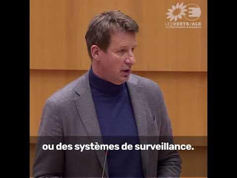 Yannick Jadot dans le débat sur la situation à Hong Kong
