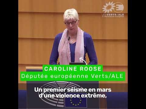 Caroline Roose sur l'aide de l'UE suite aux séismes en Croatie