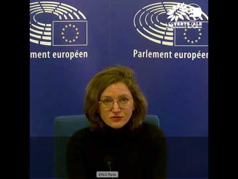 Question de Marie Toussaint à Christine Lagarde, présidente de la BCE