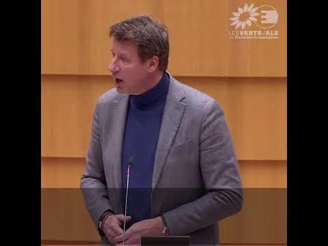 Yannick Jadot  sur le mécanisme d'ajustement carbone aux frontières