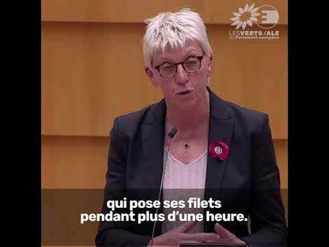 Caroline Roose sur le contrôle des pêches