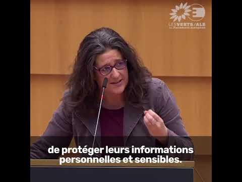 Gwendoline Delbos-Corfield sur la protection des données