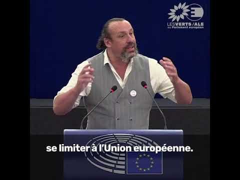 """Benoît Biteau sur l'Initiative citoyenne européenne """"End the cage age"""""""