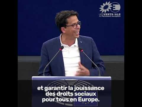 Mounir Satouri sur le Sommet de Porto