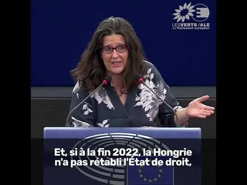 Gwendoline Delbos-Corfield sur l'État de droit en Hongrie