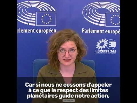 Marie Toussaint sur le 8e Programme d'action pour l'environnement